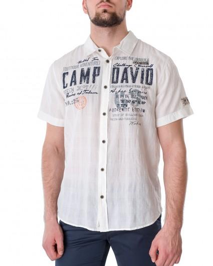 Рубашка мужская 2102-5821-off white/21