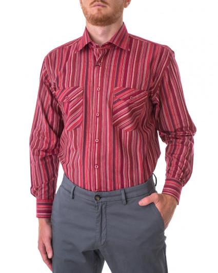 Рубашка мужская 195-165-raspberry cocktail/55