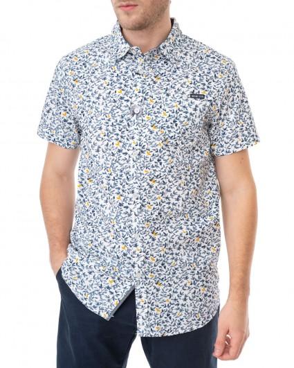 Рубашка мужская 145335-optical white/20