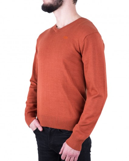 Пуловер чоловічий 140889/8-91-оранж.