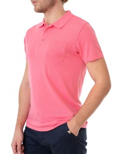 Трикотаж мужской Поло 142963-pink lemonade/20