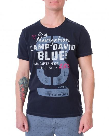 Футболка мужская 2002-3630-blue navy/20
