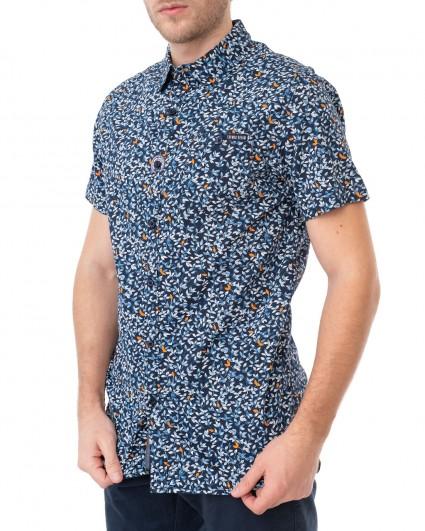 Рубашка мужская 145335-navy blazer/20