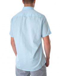 Рубашка мужская 2211-80-440-light blue/21 (5)