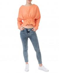 Блуза женская F6400PL306-помаранчевий/20 (2)
