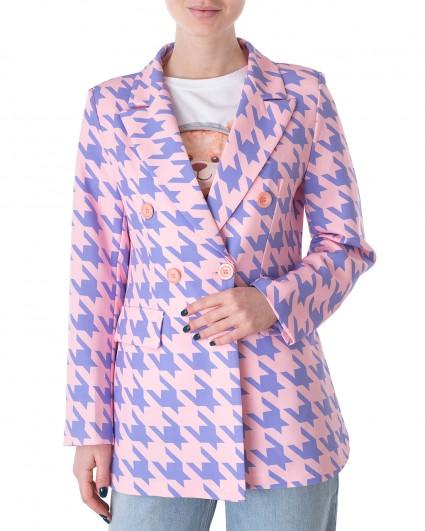 Жакет женский S21-G129GL/21-3-фіолетово-рожевий
