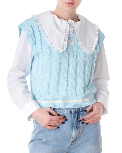Платье трикотажный женский S21-M118GL/21-блакитний