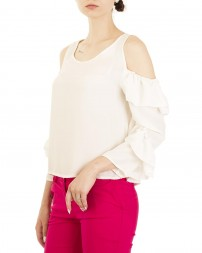 Блуза женская 00004141/8-бел. (2)