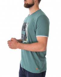 Футболка чоловіча 147895-BLUE SPRUCE-green/21 (3)
