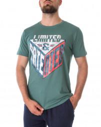 Футболка чоловіча 147436-BLUE SPRUCE-green/21 (1)