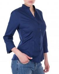 Блуза женская 1820620-синий/8 (2)