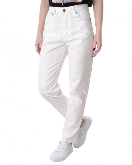 Джинсы женские S21-J137GL/21-3-білий з фіолетовим