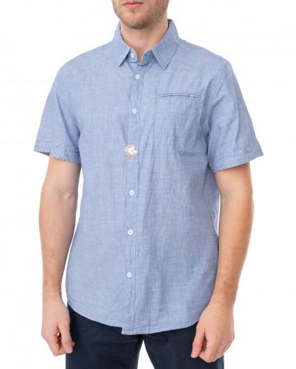 Рубашка мужская 137875-blue/20