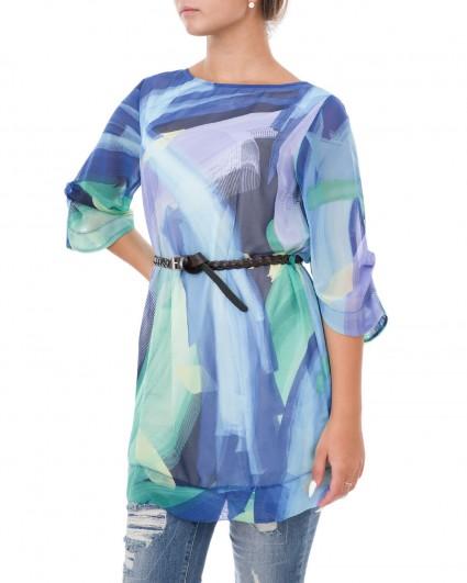 Tunic womens 0004801-голуб./9