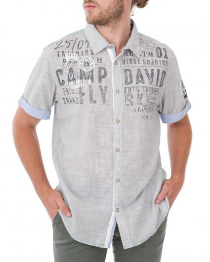 Рубашка мужская 1804-5418/83-сер.