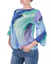 Блуза женская 00004800-зелен./9 (4)