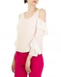 Блуза женская 00004141/8-бел. (4)