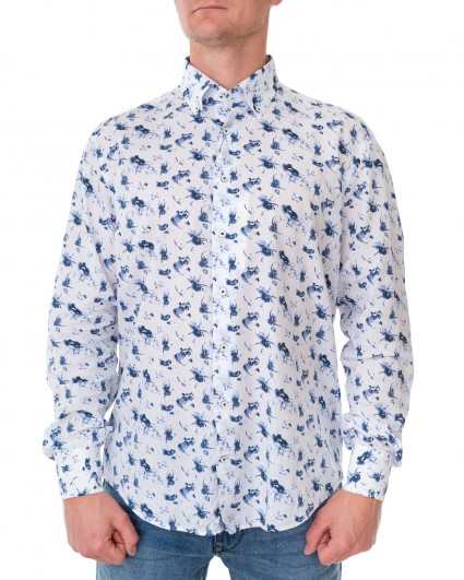 Рубашка мужская 2BSH-562-білий/20