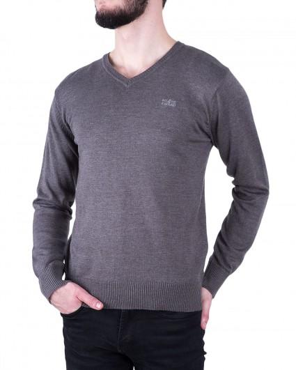 Пуловер мужской 140889/8-91-сер.
