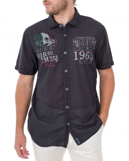 Рубашка мужская 1804-5460/82-синий