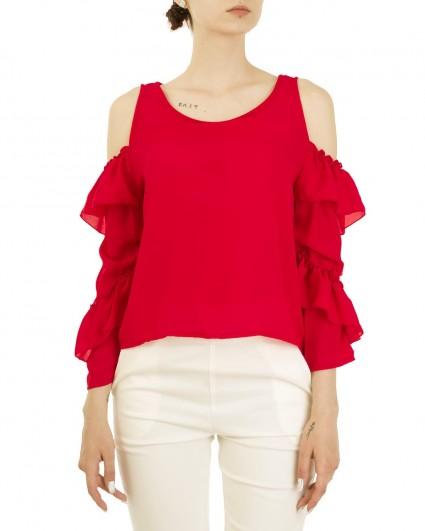 Блуза женская 00004141/8-красн.