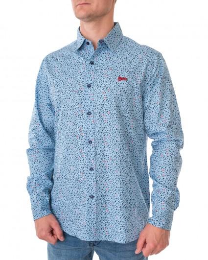 Рубашка мужская 145409 - blue /20