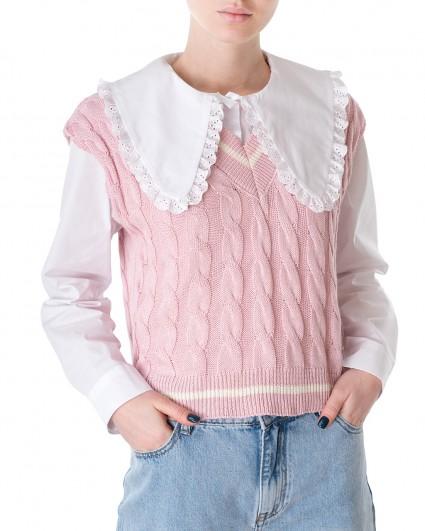Платье трикотажный женский S21-M118GL/21-рожевий