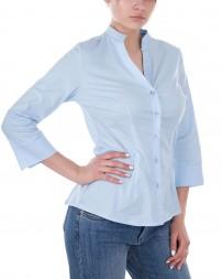 Блуза женская 1820620-голубой/8 (2)