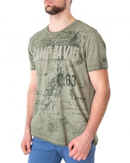 Футболка мужская 2102-3817-jungle green/21