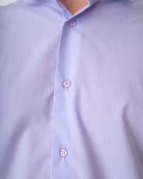 Сорочка чоловіча 153-SLIM FIT-violet/21-22 (5)
