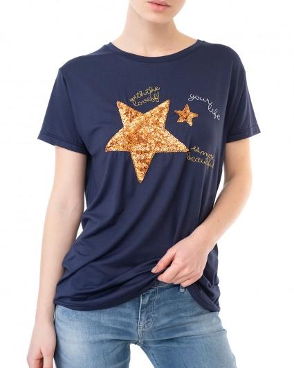 The T-shirt is female 3194-синій/20