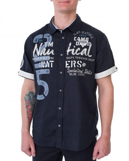 Рубашка мужская 2002-5638-blue navy/20