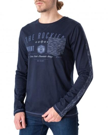 Лонгслив мужской 146464-navy blazer/20-21