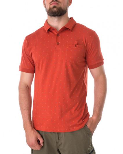 Поло мужское 147212-RED OCHRE-orange/21