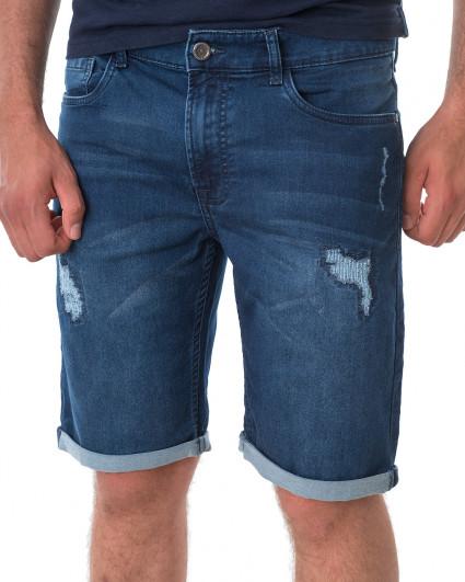 Шорты джинсовые мужские 219016157-628-navy blue/21-3