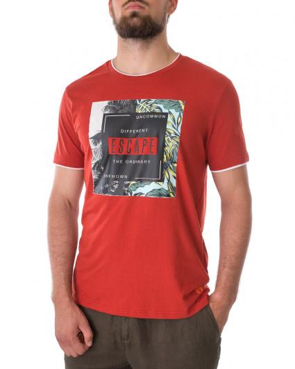 Футболка мужская 147439-RED OCHRE-red/21