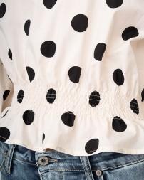 Блуза женская C975FF09-білий/20 (5)
