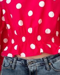Блуза женская C975FF09-червоний/20 (5)