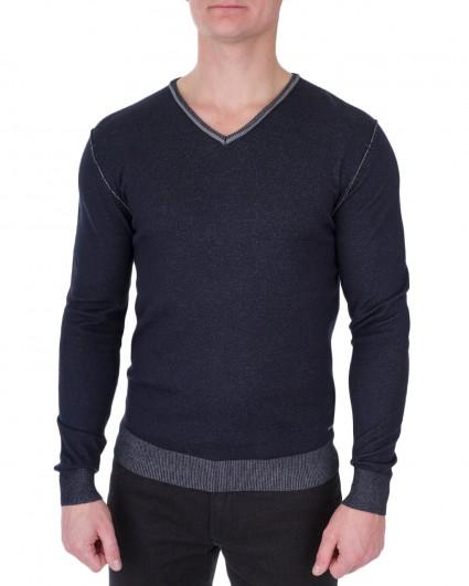 Пуловер чоловічий 128214-dark blue/6-7