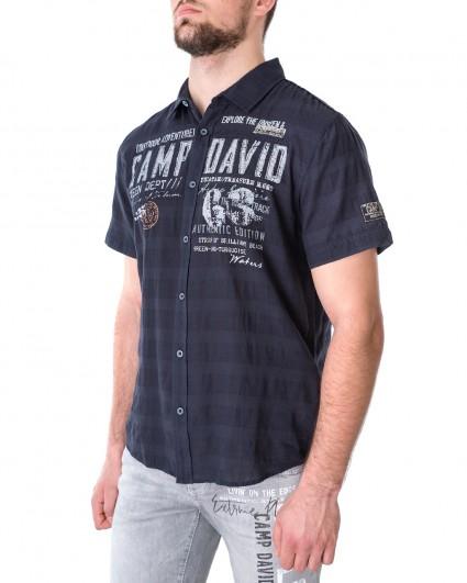 Рубашка мужская 2102-5821-oleep sea/21