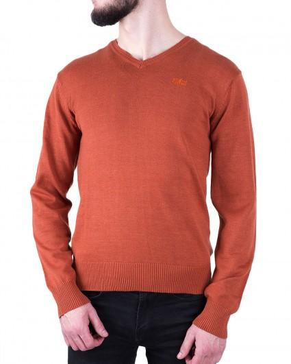 Пуловер мужской 140889/8-91-оранж.