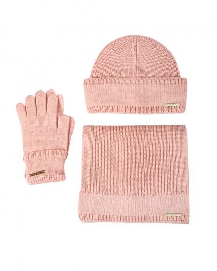 Комплект женский (шапка + шарф + перчатки) 59Y00007-9Y099999-P010/20-21