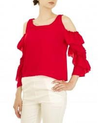 Блуза женская 00004141/8-красн. (4)