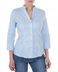 Блуза женская 1820620-голубой/8 (1)