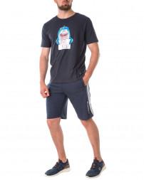 Шорти трикотажні чоловічі 147055-DRESS BLUES-blue/21 (2)