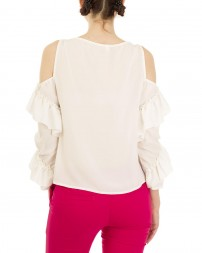 Блуза женская 00004141/8-бел. (3)