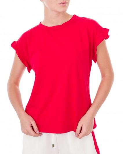 The T-shirt is female 0041225004-красн./9