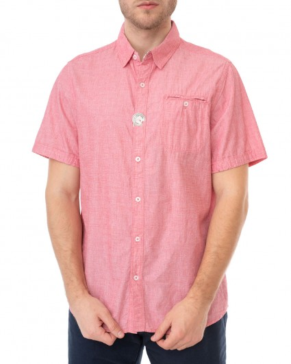 Рубашка мужская 137875-red/20