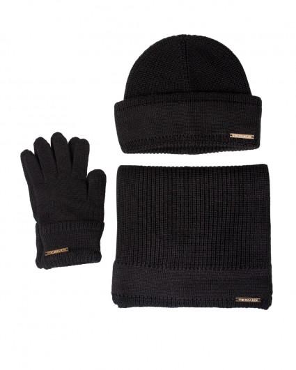 Комплект женский (шапка + шарф + перчатки) 59Y00007-9Y099999-K299/20-21