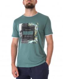 Футболка чоловіча 147895-BLUE SPRUCE-green/21 (1)